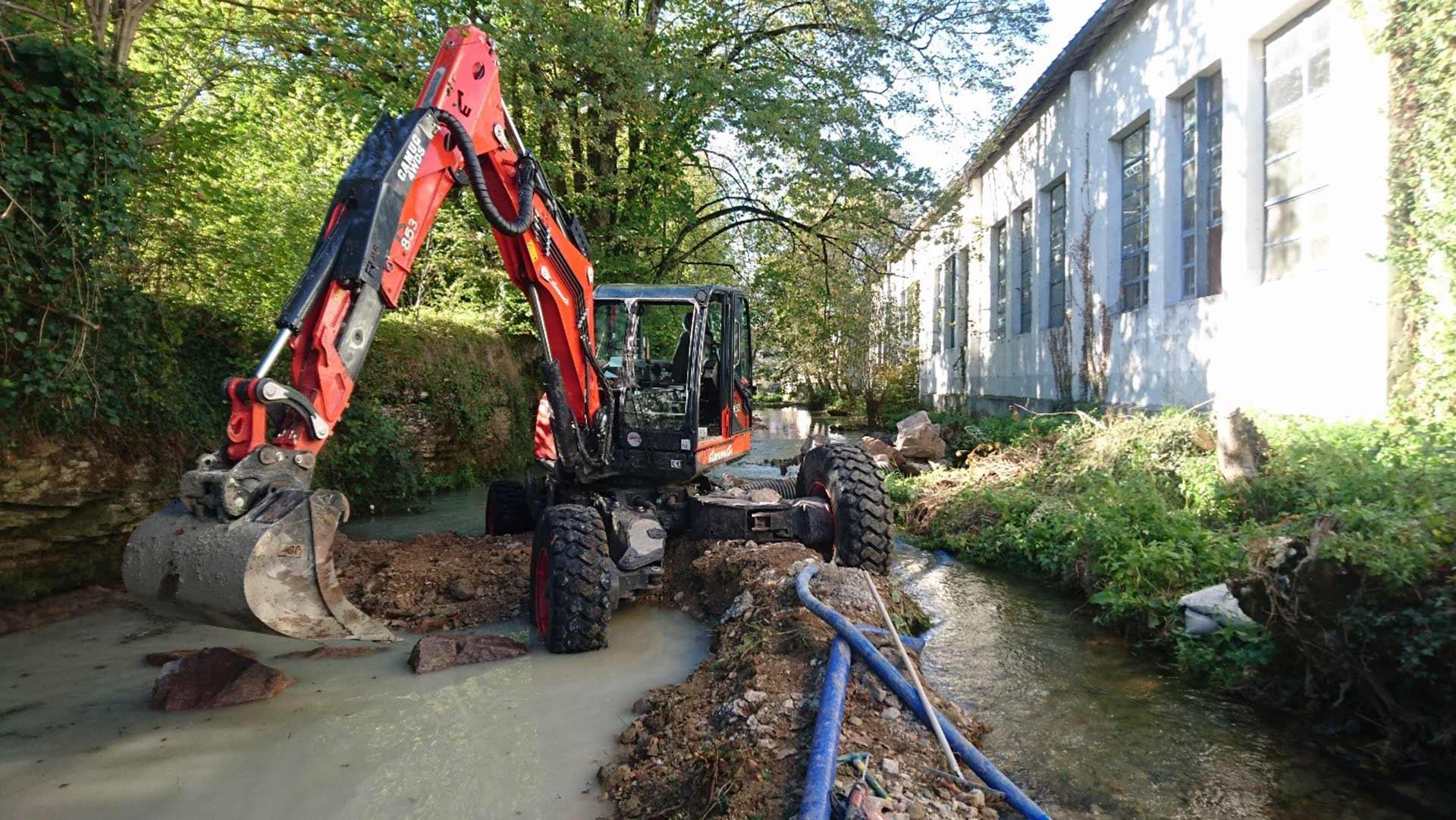 Barrage Faurecia à Aundincourt